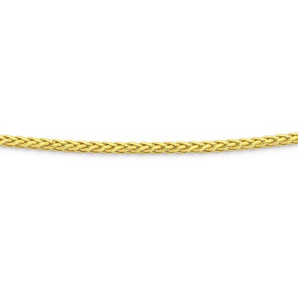 9ct Gold 55cm Wheat Chain