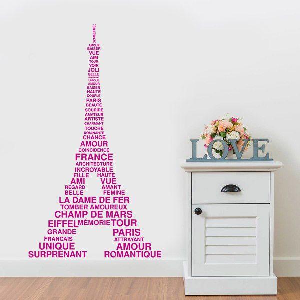 Torre Eiffel - Vinilos Decorativos Fotomurales Adhesivos - Medellín