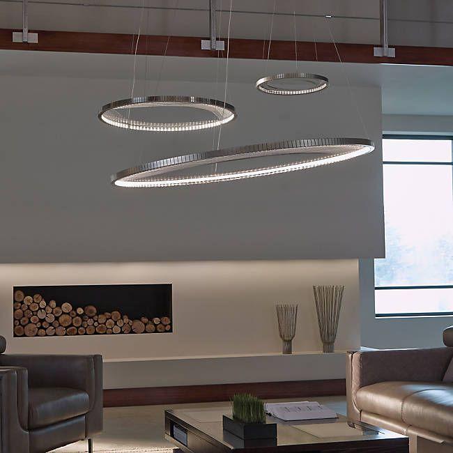 Interlace LED Suspension