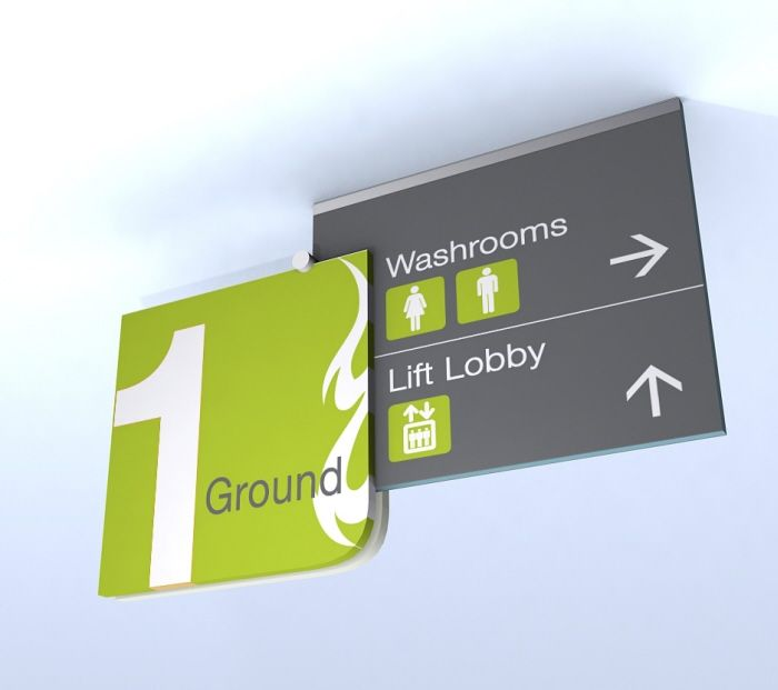mall signage #wayfinding and #signage