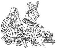 Hindu Ceremony Clip Art