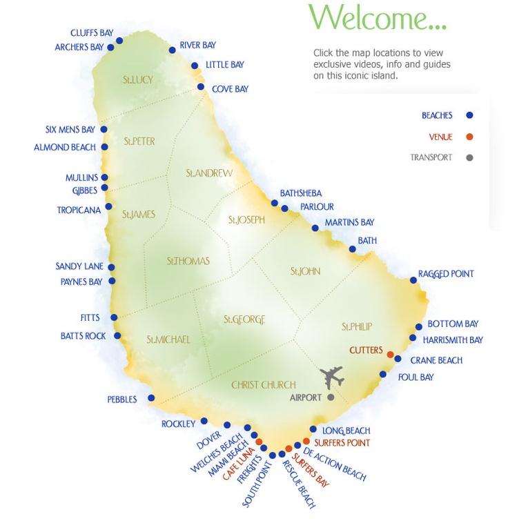 Best Barbados Images On Pinterest Barbados Barbados - Barbados earth map