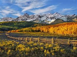 ColoradoMountain Landscapes, Sweets Home, Fence, Autumn, Dallas, Beautiful Places, Colorado Home, Awesome Nature, Colorado Travel