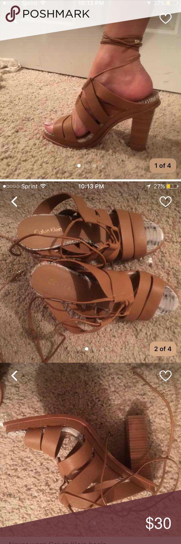 NEW Calvin Klein heels Brand new. Size 9 Calvin Klein Shoes Heels