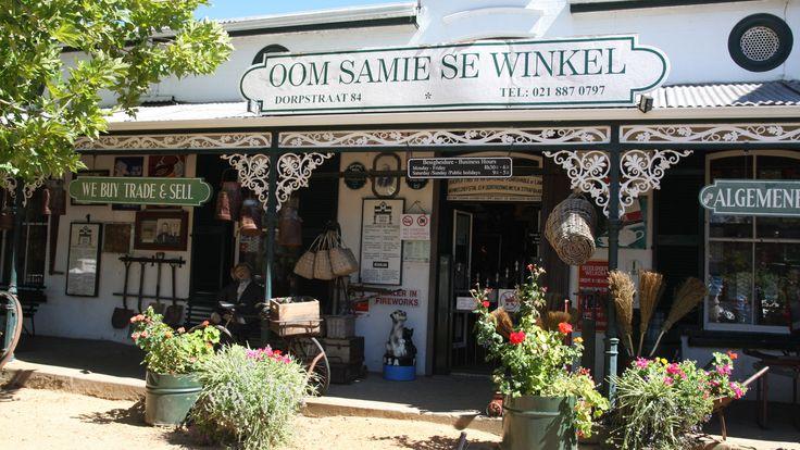 Oom Samie se winkel in Stellenbosch - Zuid-Afrika (2001)