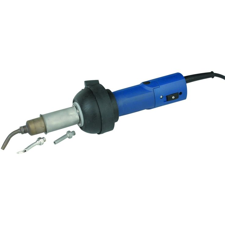 Chicago Electric Welding 96712 Plastic Welding Kit with Air Motor and Temperature Adjustment