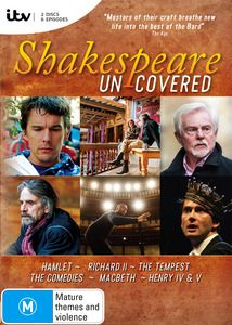 Shakespeare Uncovered. $34.99