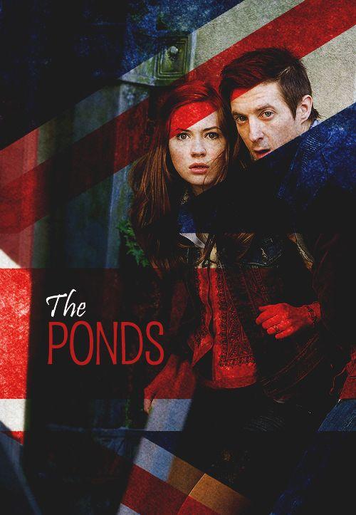 The Ponds.: The Ponds, Amelia Ponds, Cutest Ponds, Holy Tardis, Geek Fun, Doctors, Fandom, Amy Ponds, Rory Williams