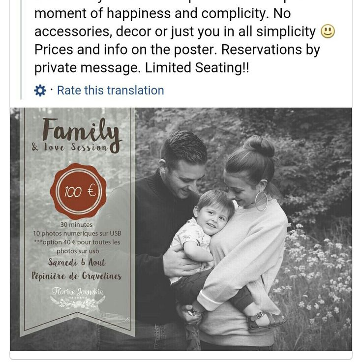 Gorgeous creation from talented photographer, Florine Jonnekin Phitography which using pur Family Mini Session Template! Wishing you success for your session. Good luck!
