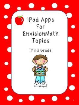 iPad Apps for Envision Math Topics - Third Grade