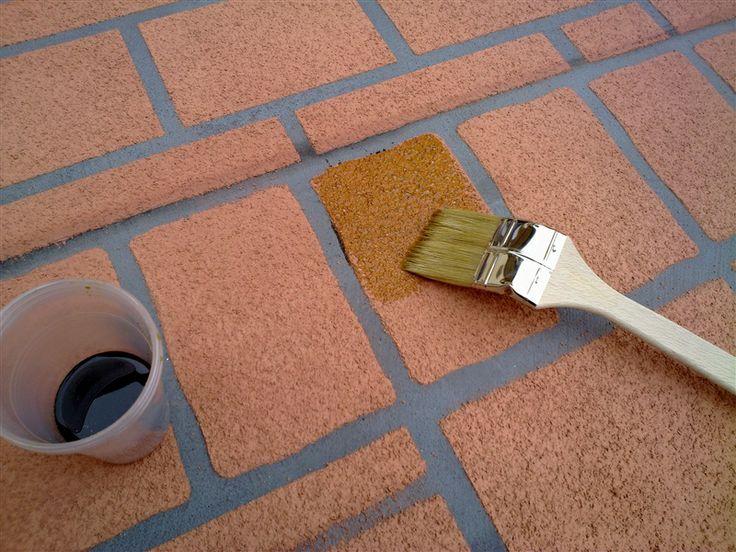 Pavimento antiscivolo per esterni fresco su indurito