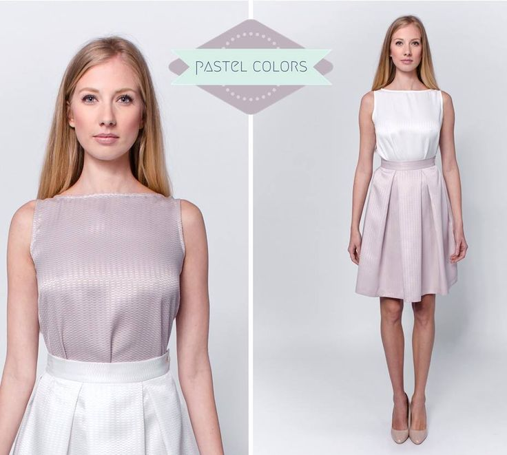 Pastel colors never go out of fashion. Feminine, elegant and sophisticated, therefore LACCA often works with pastel shades. Play safe and find the most sympathetic pieces! http://laccafashion.com/