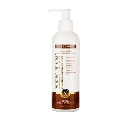 Golden Rules - Self tanning tips  - Xen-Tan Dark Lotion Weekly Self-Tan 236ml