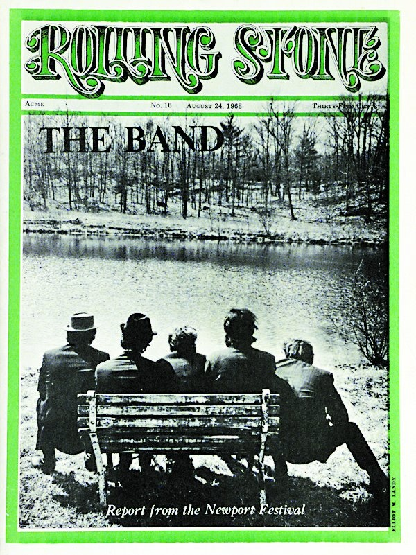 Rollong Stone Aug. 1968: The Band