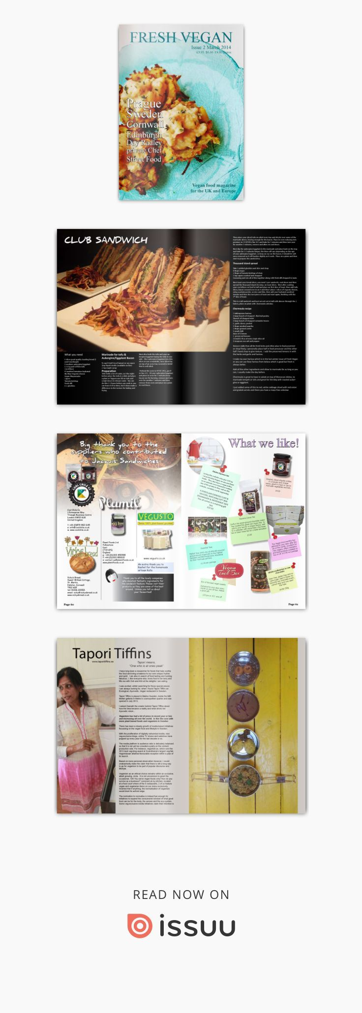 Fresh Vegan Magazine Issue 2 - 2014  Issue 2 we travel to Prague an