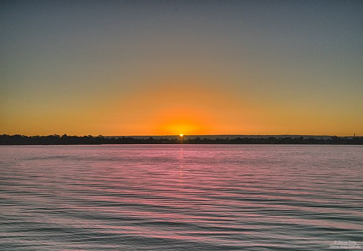 #sunrise over #Canning River, #Manning #Perth #thisisWA