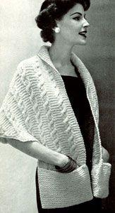 Contralto scialle | Libero Patterns Knitting