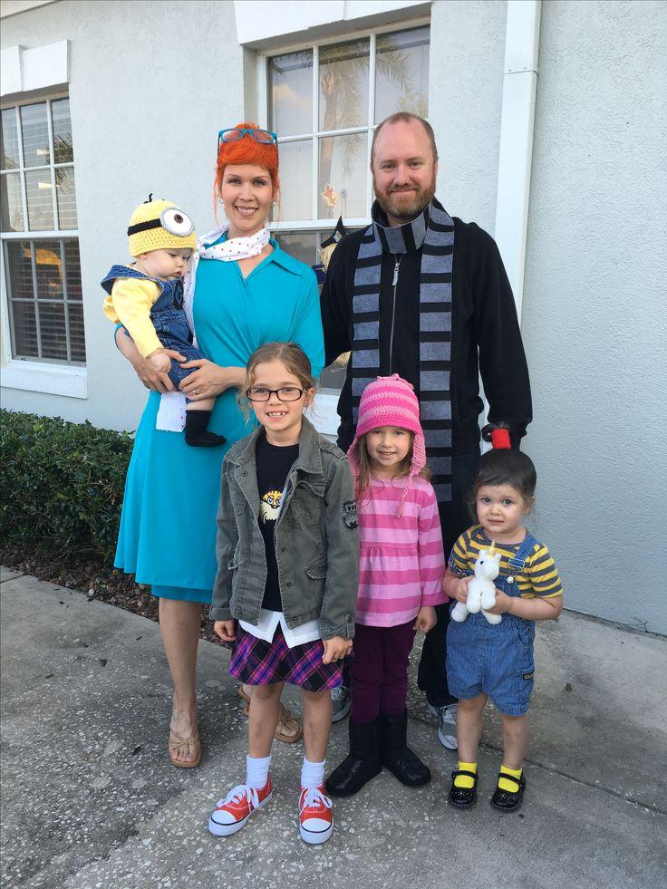 Halloween Baby Clothes: Despicable Me Gru Family Costume Family Halloween Costumes
