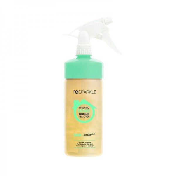 reSPARKLE Home Odour Remover 500ml Refill Bottle $7.20 100% natural, plant based revolutionary formula that removes the toughest odours by killing odour-producing bacteria.  FAMILY & PET SAFE ANTI-BACTERIAL SANITISES KILLS ODOUR