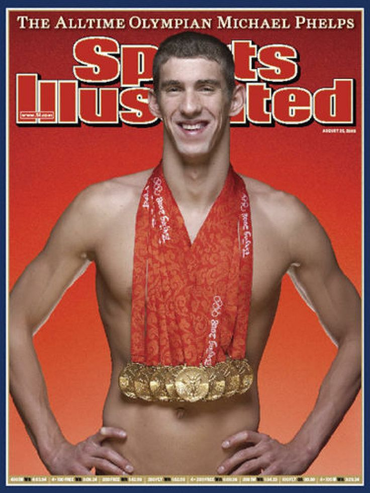 Michael Phelps 7 Olympic Gold (2008)