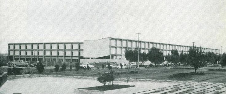 1963 Universidad Iberoamericana Col. Campestre Churubusco.… | Flickr