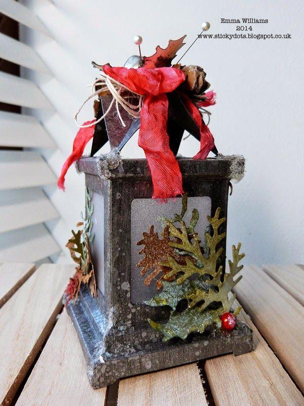 43 best luminary Die images on Pinterest Tim holtz Christmas