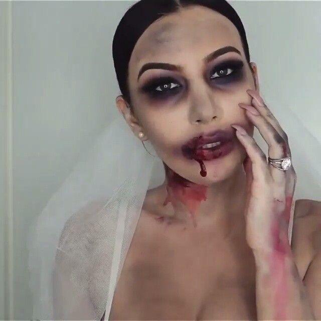 """""""Novia zombi  Por: @j_make_up  Canción: born to die ( lana del Rey )"""""""