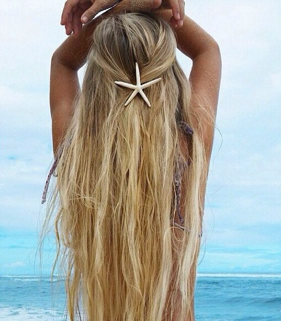 Beach hair all year long!! REMY CLIPS of California custom made hair extensions. No pre-made sets, made with fresh cut hair when you order. See our entire line of custom made hair extensions.  www.remyclips.com