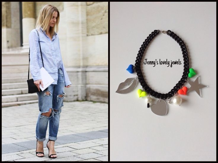 Street style necklaces