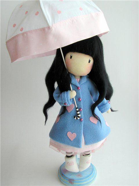 Куклы по мотивам Сюзанна Вулкотт - 7 Февраля 2013 - Кукла Тильда. Всё о Тильде, выкройки, мастер-классы.
