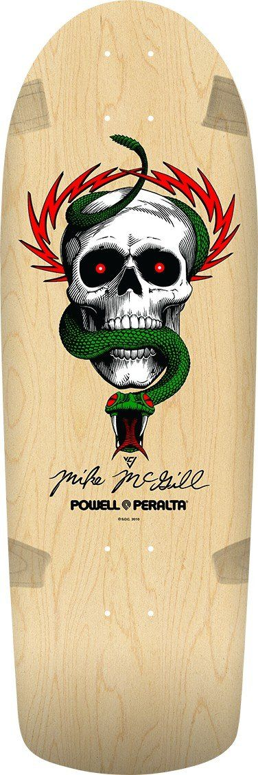 Powell Peralta Mike McGill Skull & Snake Natural Skateboard Deck **Pre-Sale**
