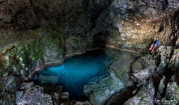 the grotto Tobermory Ontario