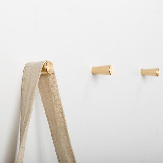 Modern Brass Decorative Wall Hooks Gold Towel Coat Hook Hangers
