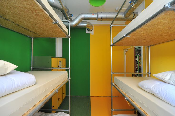 The Green & Yellow room.