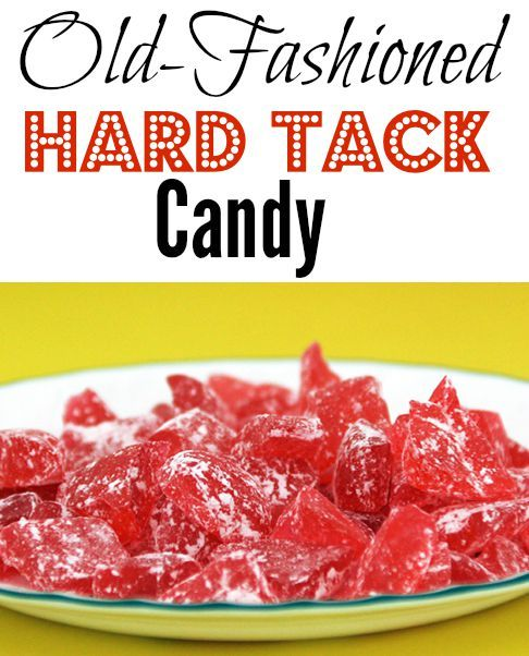 Enjoy making this simple recipe for old fashioned hard tack candy. You're kids will love making and eating it!