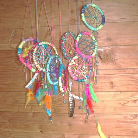 www.facebook.com/meestertjes artworkshops for children dreamcatchers
