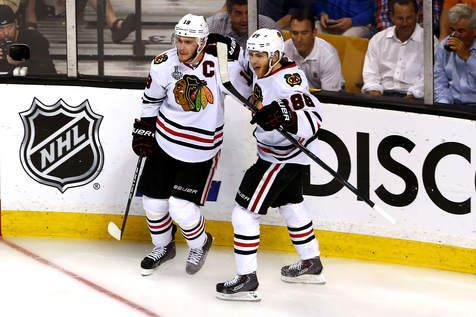 Signing Corey Crawford and Niklas Hjalmarsson to lucrative contract extensions was a no-brainer, according to Blackhawks general manager Stan Bowman. As for the looming contract negotiations with Jonathan Toews and Patrick Kane, it was pretty much no comment, even as the first question in the