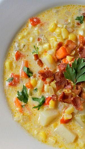 ... and corn chowder corn soup creamy corn chowder recipe corn chowder