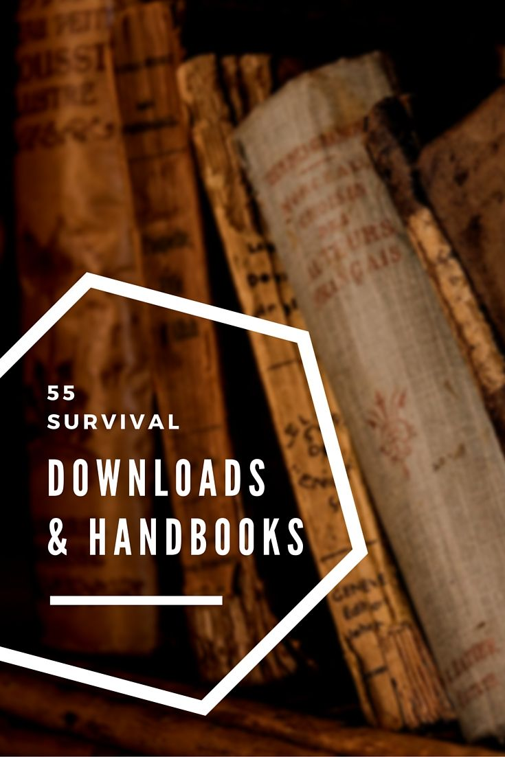 55 Survival Downloads and Handbooks - I have all of these articles downloaded on my computer and some day soon I will print these all out for when SHTF. Subjects include Pioneering, SHTF, Engineering, Urban Gardening, Defense, and more.