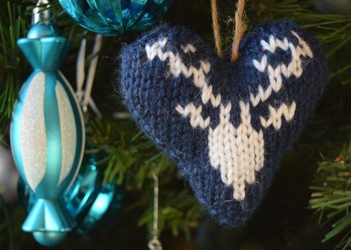 2017010 Knit Fair Isle Hearts pattern by Midknits