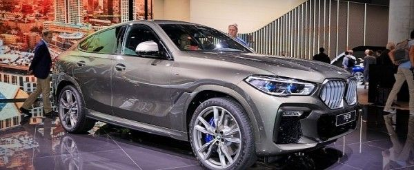 2020 Bmw X6 M50i Revealed In Frankfurt As Ultimate Thug Suv Autoevolution Bmw X6 Bmw Thug