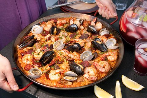 Paella Mixta (Paella with Seafood and Meat) Recipe on Yummly. @yummly #recipe