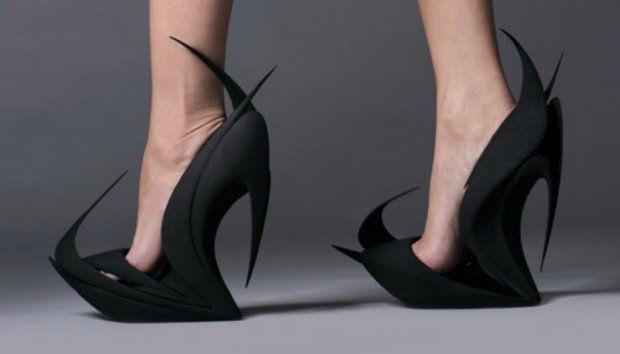 Διάσημοι Αρχιτέκτονες Σχεδιάζουν Απίστευτες Γυναικείες Γόβες που Μπορείτε να Εκτυπώσετε!