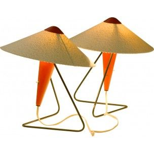 Vintage Design Table Lamp from 50's 60's 70's (14) - Design Market