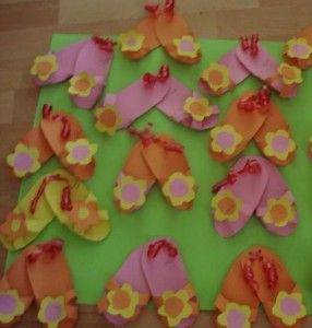 slippers craft idea for kids (2)