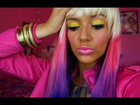 Nicki Minaj Makeup and Costume tutorial