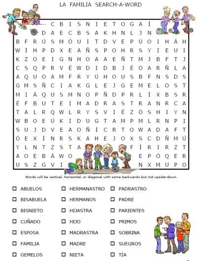 Free Worksheets » Free Printable Spanish Worksheets For Beginners ...