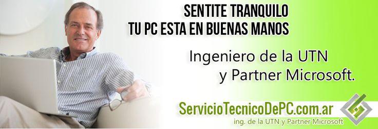 servicio tecnico de pc por ingeniero utn y partner microsoft soporte
