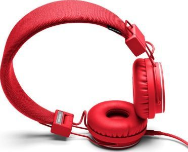 Urbanears Plattan headphones - Red `One size Fabrics : Leather, Plastic Details : foldable, Semi-open, Supra-aural, Microphone and remote control Color : Red Base 3,5 mm mini stereo jack on an earpiece with possibility to plug a second headset ( http://www.comparestoreprices.co.uk/january-2017-7/urbanears-plattan-headphones--red-one-size.asp