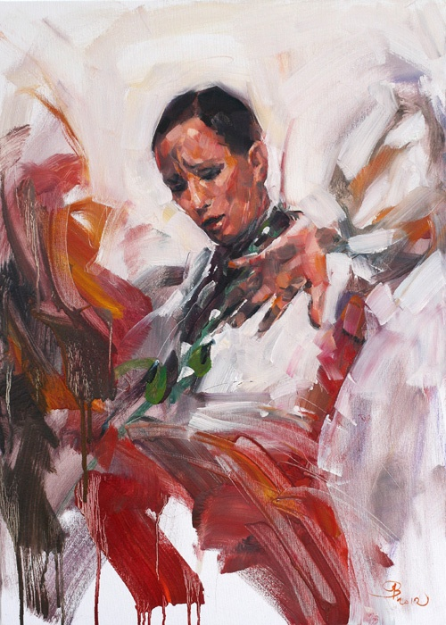 50x70cm, oil on canvas